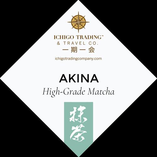 Ichigo Tea Label AKINA