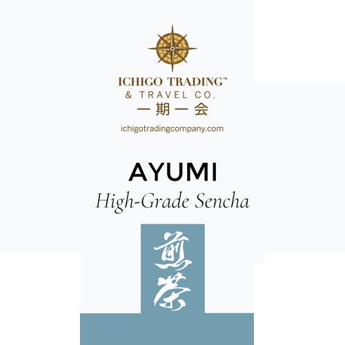 Ichigo Tea Label AYUMI
