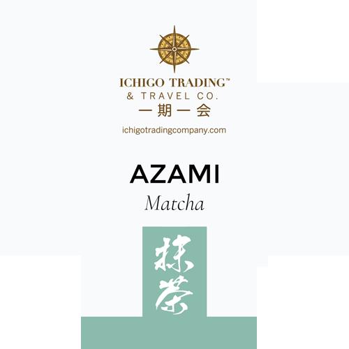 Ichigo Tea Label AZAMI